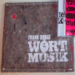 "Frank Sorge ""Wortmusik"" (Filztasche)"